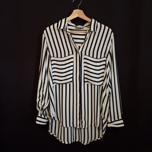 Allen B striped blouse